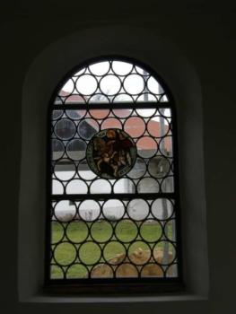 Kapellenfenster nach der Restauration