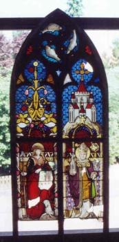 Glasmalerei Sattler - Kirchenfenster vor der Restauration